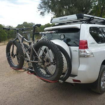 Portabici posteriore for Bici ripiegabili